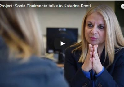 VAN Project: Sonia Chaimanta talks to Katerina Ponti