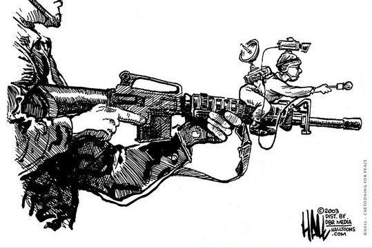 Σκίτσα για την Παγκοσμία Ημέρα Ελευθερίας του Τύπου από την UNESCO