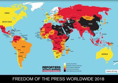 Η Κατάσταση της Ελευθερίας του Τύπου παγκοσμίως